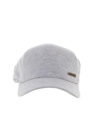 Bay Şapkacı Şapka Gri